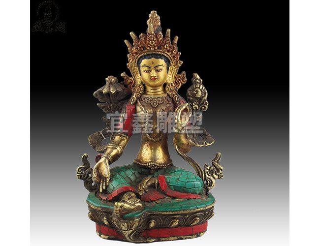 铜佛像铸造厂,佛像雕塑制作 - 河北宜鑫雕塑有限公司