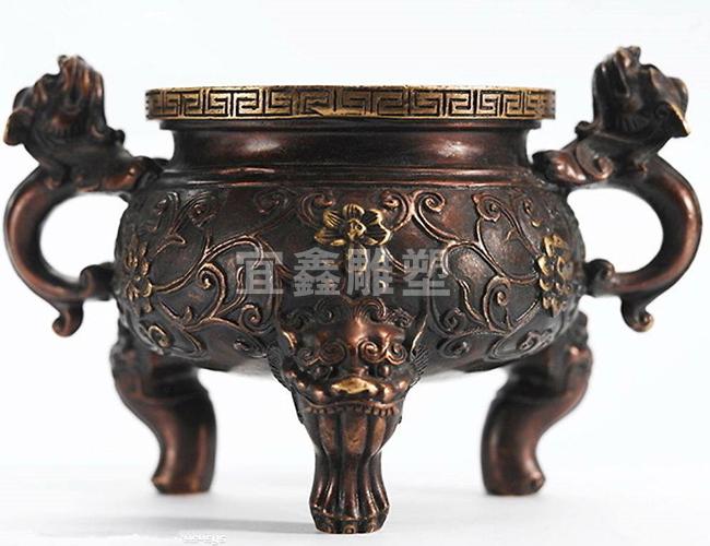 铸铜厂家提醒您铸铜雕塑应摆放在干燥环境下