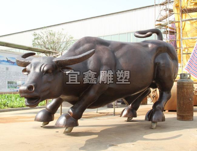 铸铜动物铜雕注重形态刻画