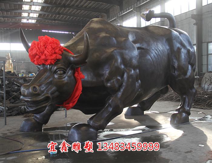 铸铜牛雕塑工艺过程
