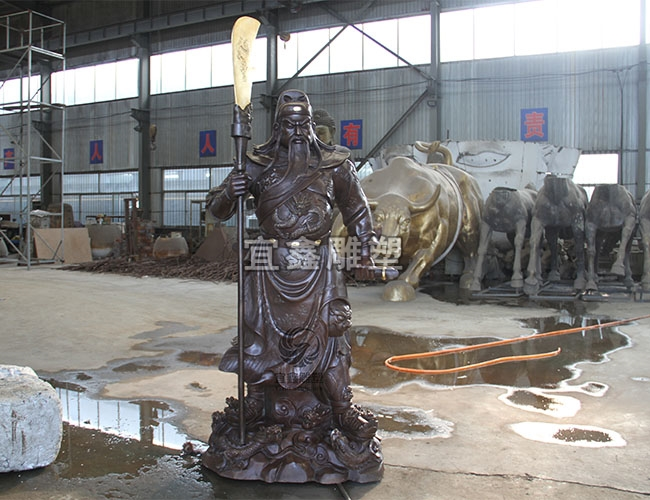 铸铜铜雕材料主要分为哪几种